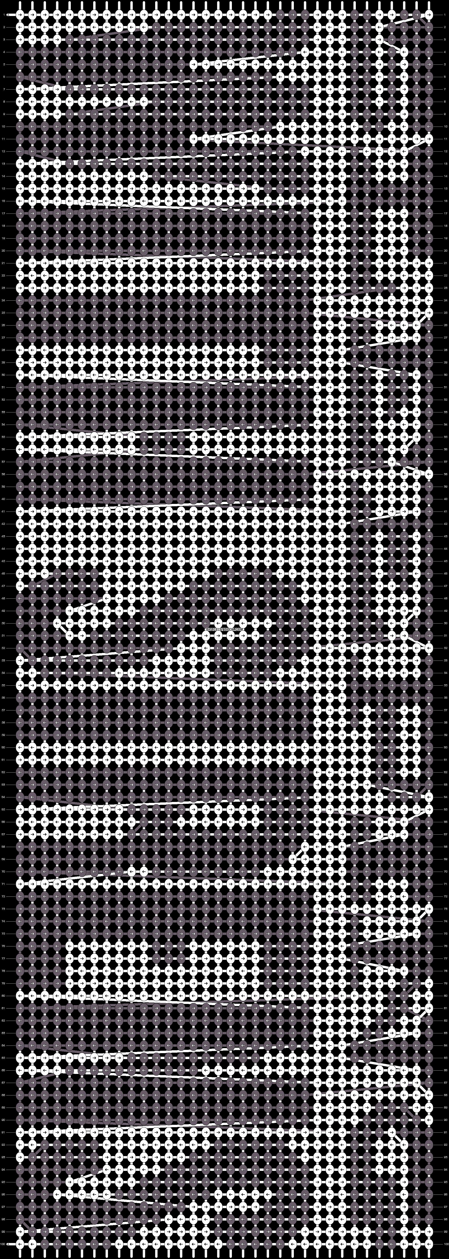 Alpha pattern #8680 pattern