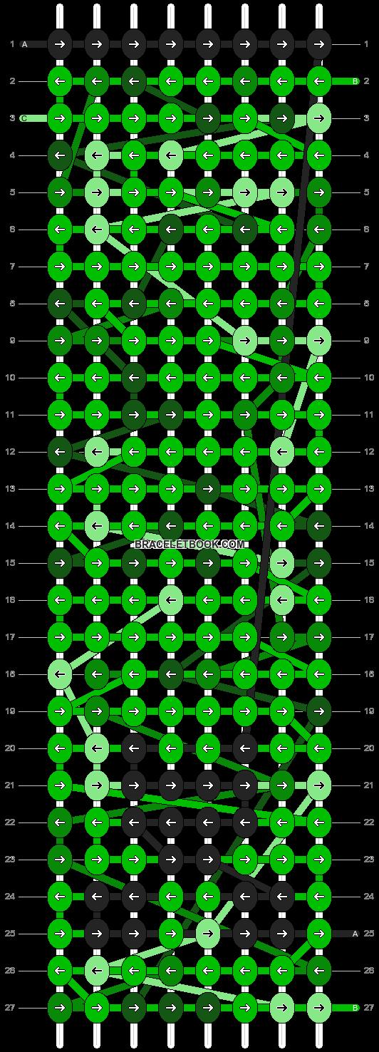 Alpha pattern #8682 pattern