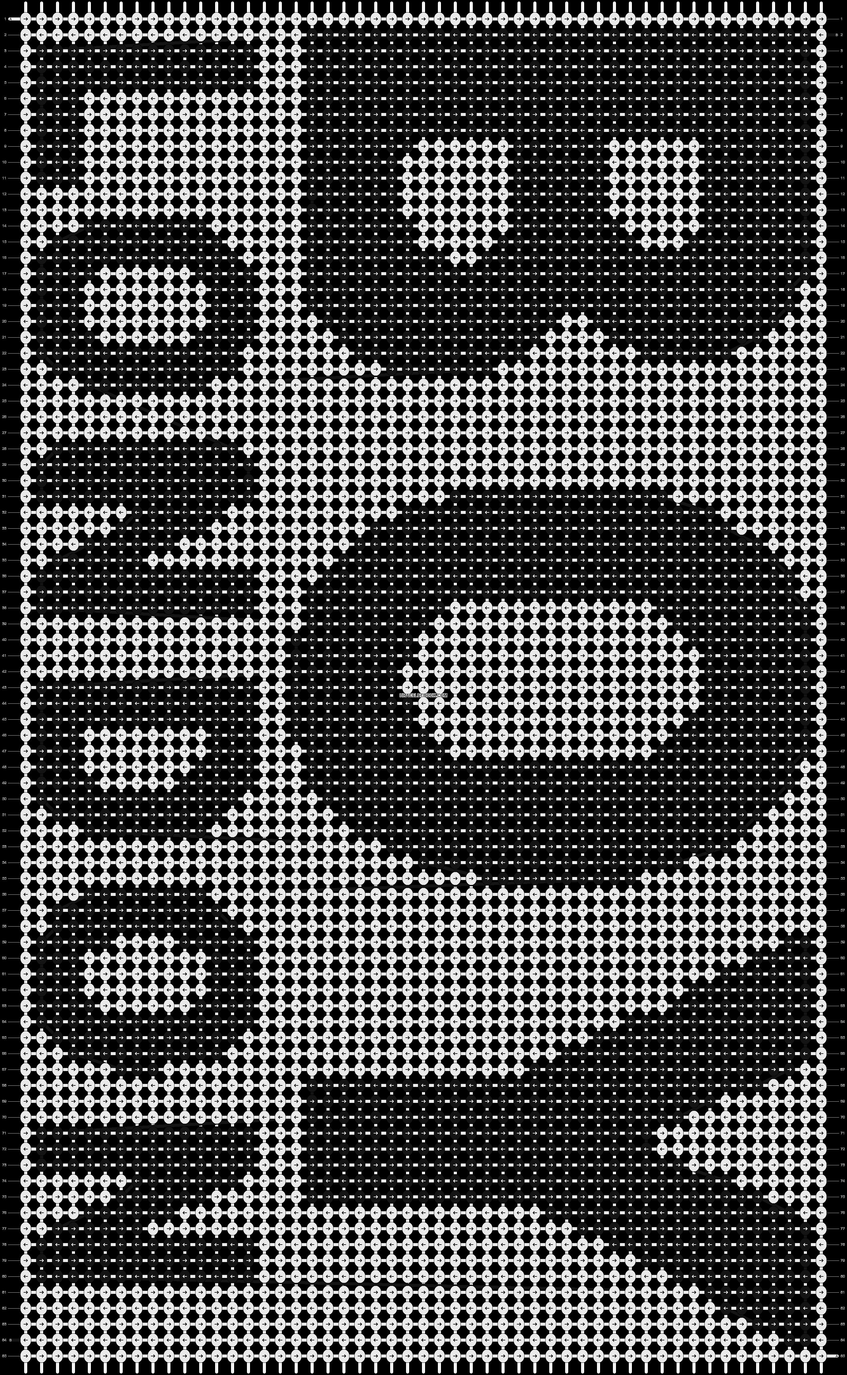 Alpha pattern #8684 pattern