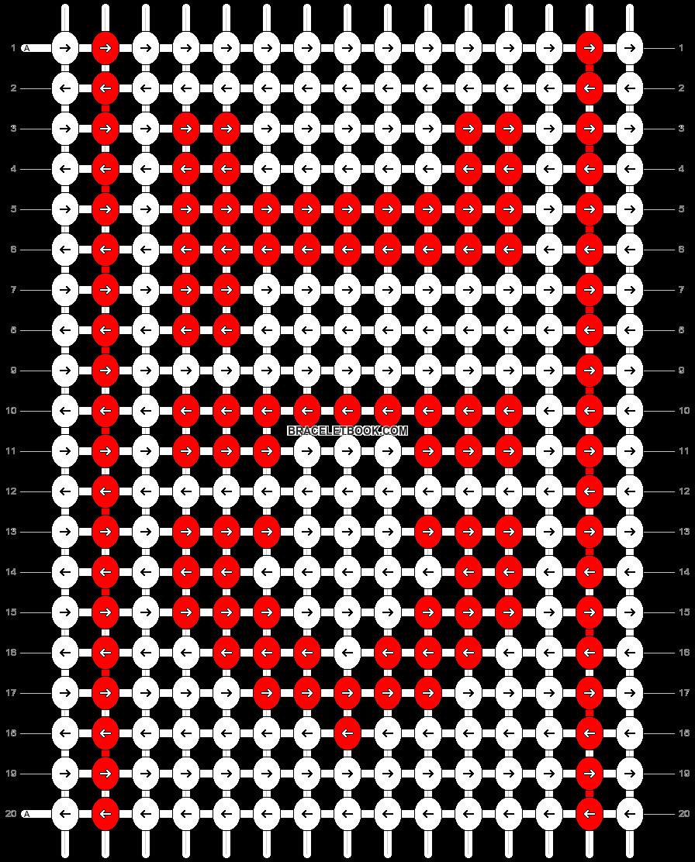 Alpha pattern #8690 pattern