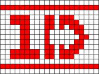 Alpha pattern #8690