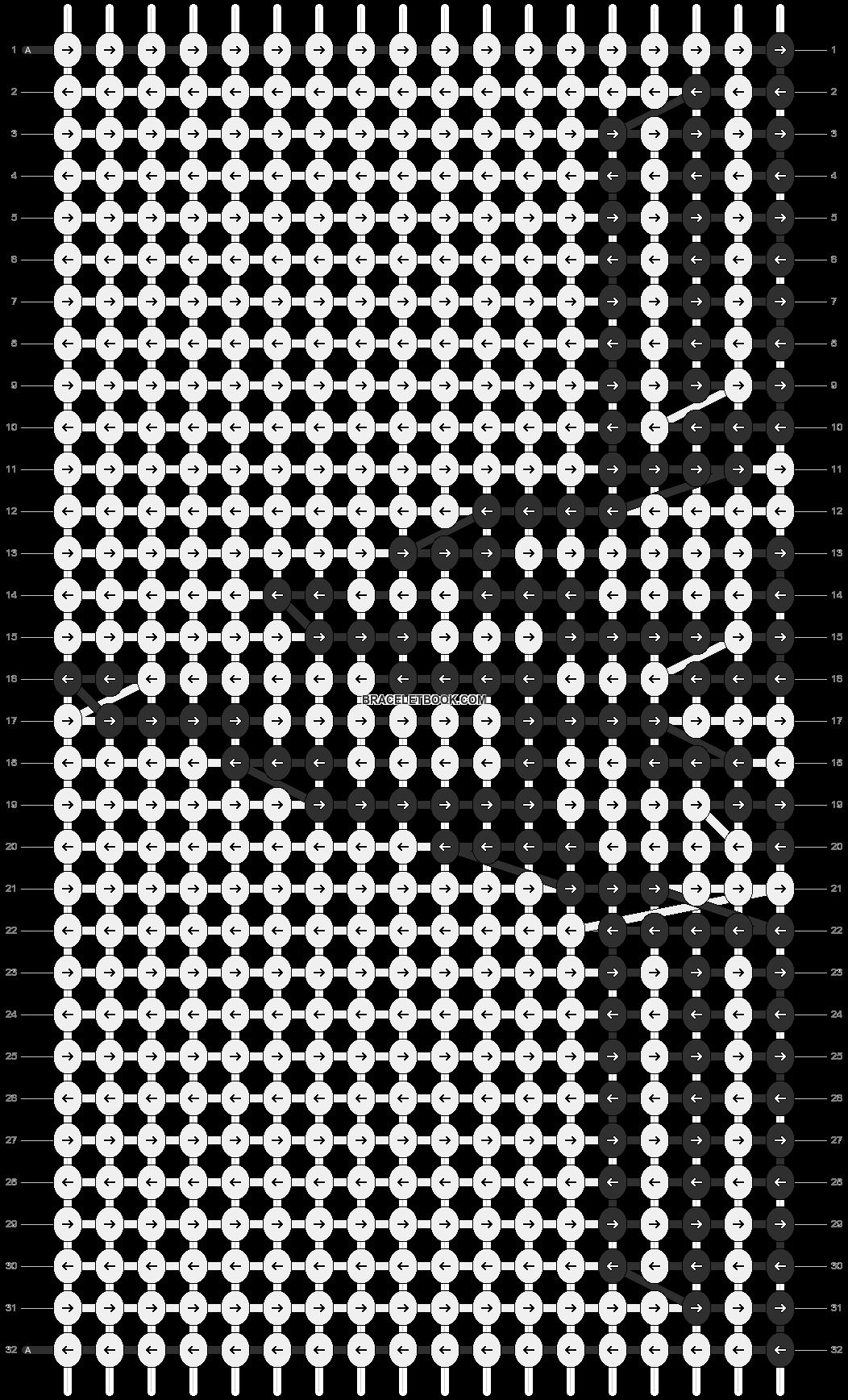 Alpha pattern #8693 pattern