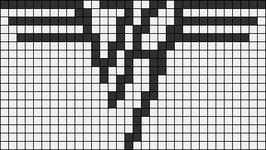 Alpha pattern #8693