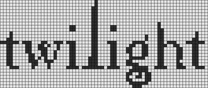 Alpha pattern #8705