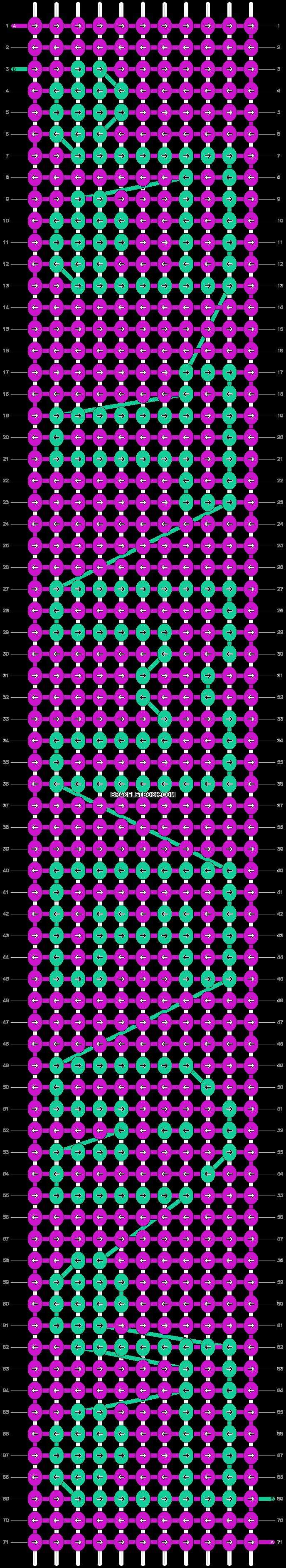 Alpha pattern #8713 pattern