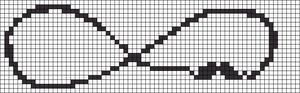 Alpha Friendship Bracelet Pattern #8714