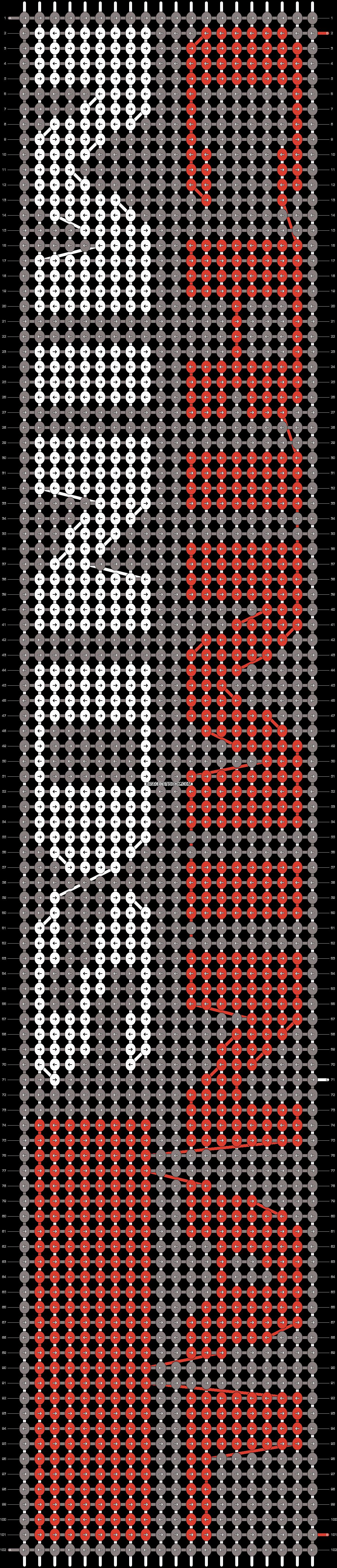 Alpha pattern #8718 pattern
