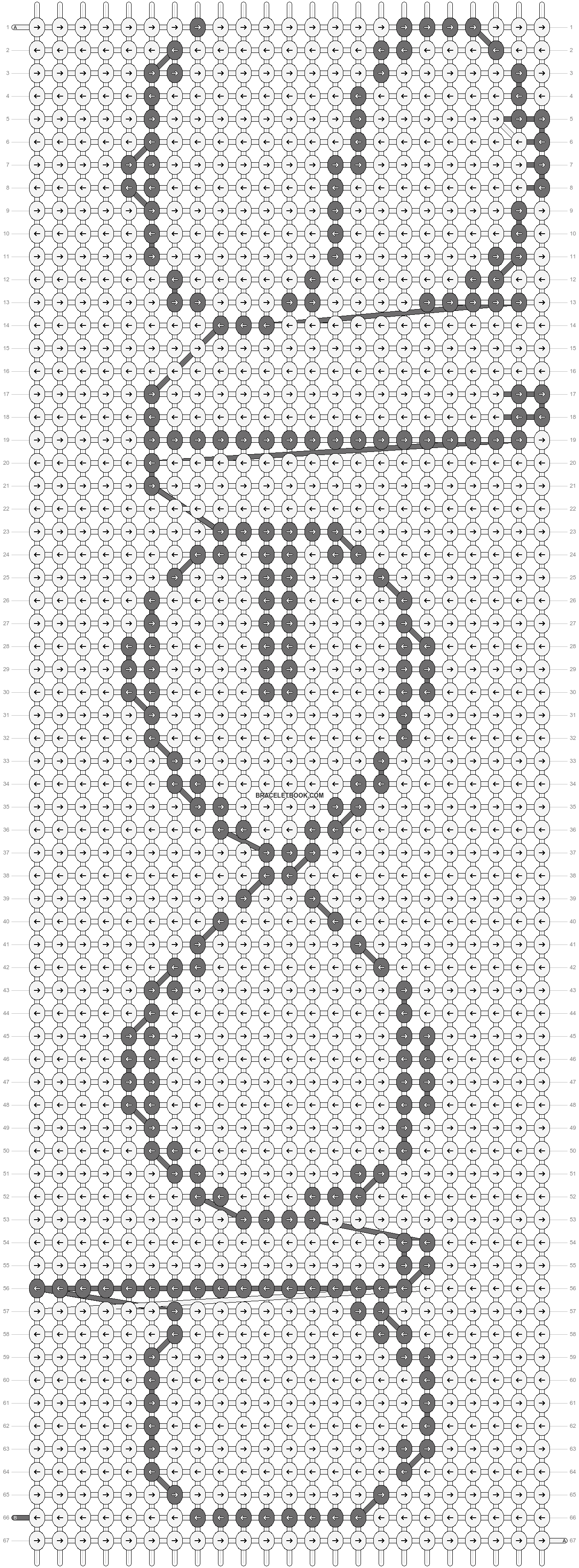 Alpha pattern #8719 pattern