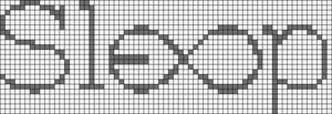 Alpha pattern #8719