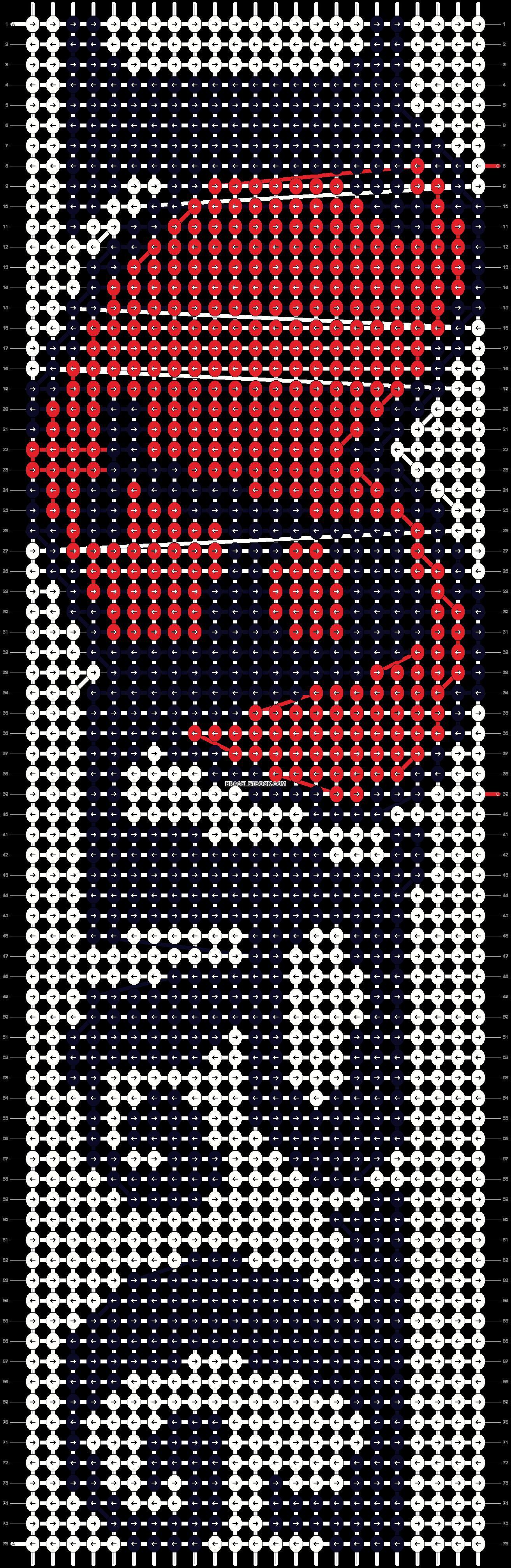 Alpha pattern #8720 pattern