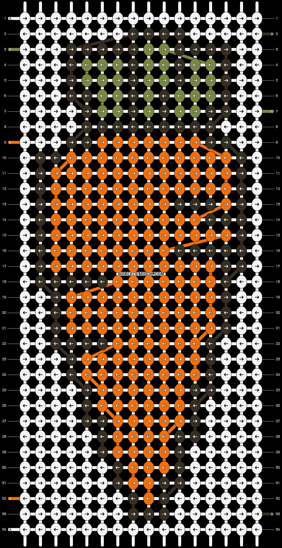 Alpha pattern #8721 pattern