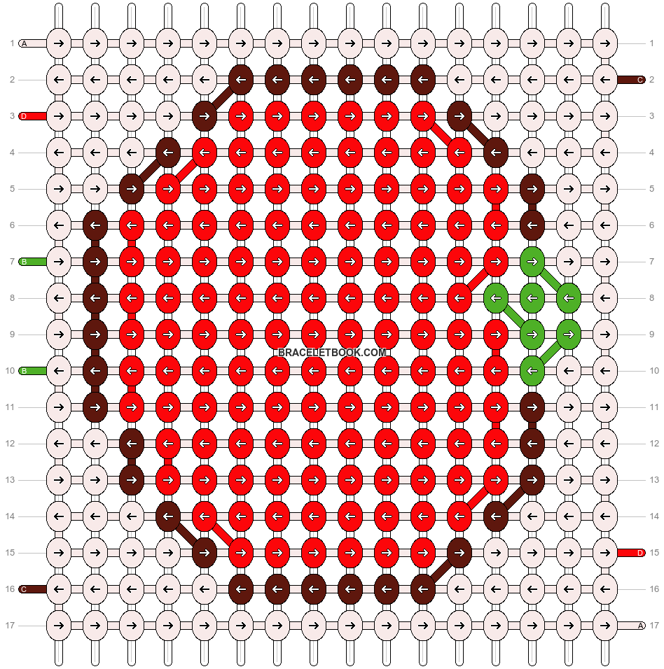 Alpha pattern #8724 pattern