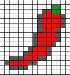 Alpha pattern #8725