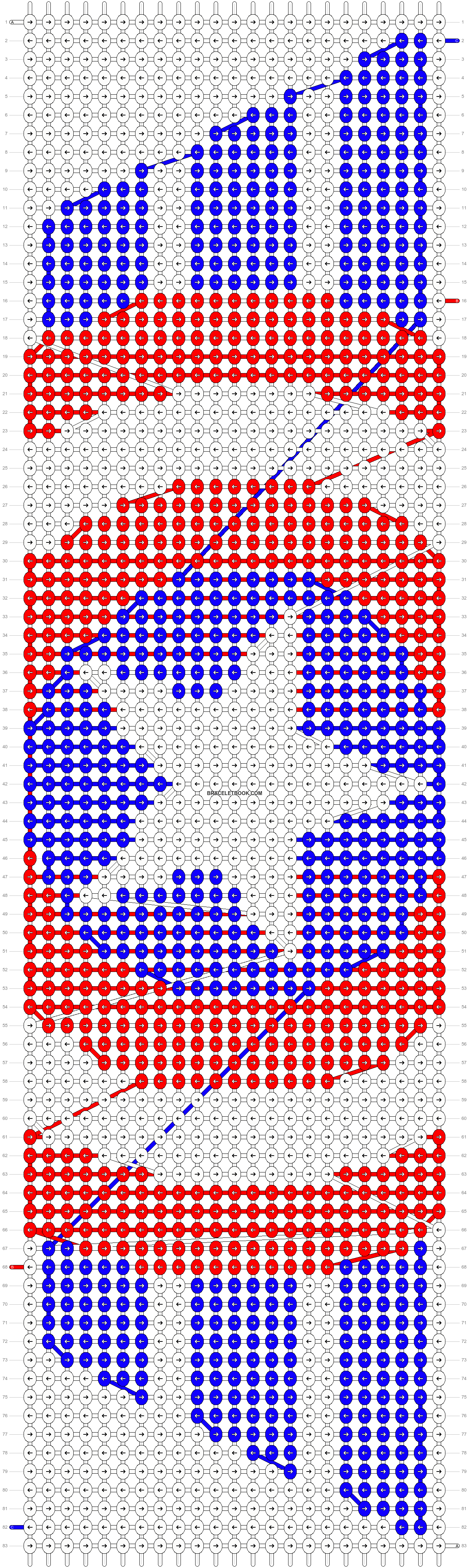 Alpha pattern #8733 pattern