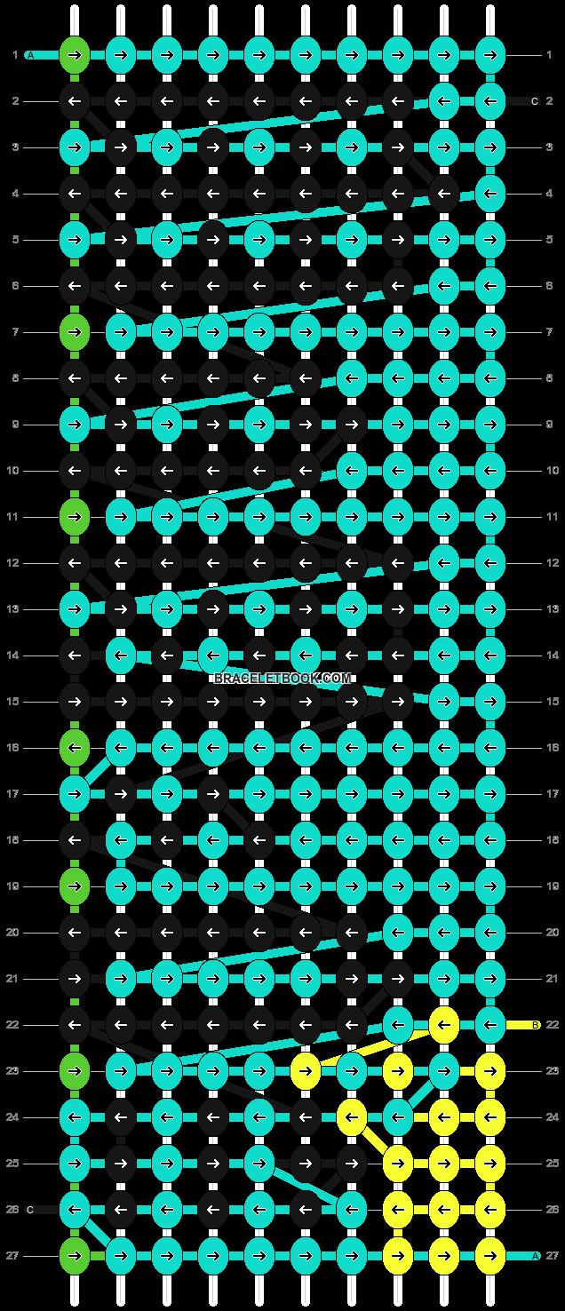 Alpha pattern #8753 pattern