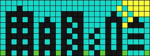 Alpha pattern #8753