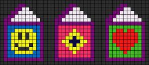 Alpha pattern #8754
