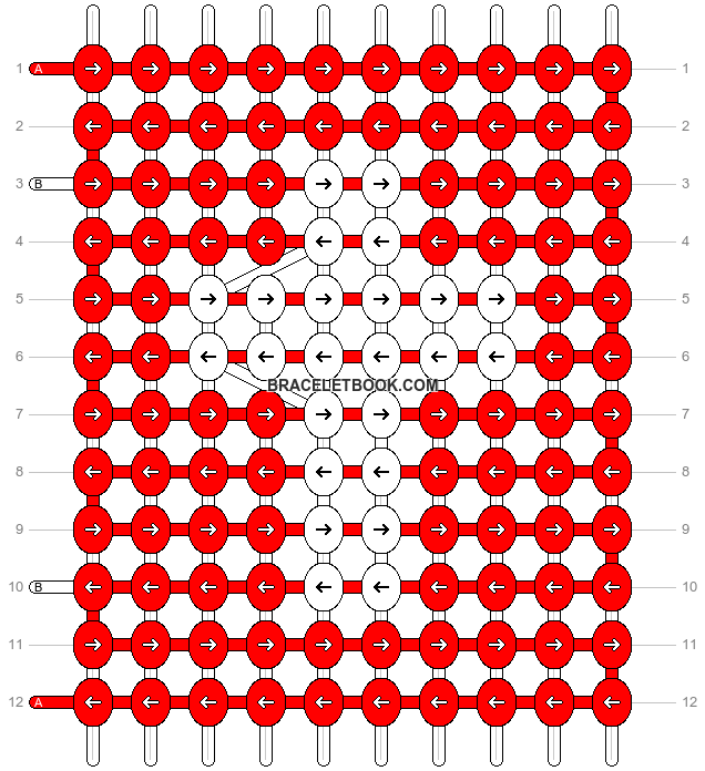 Alpha pattern #8757 pattern