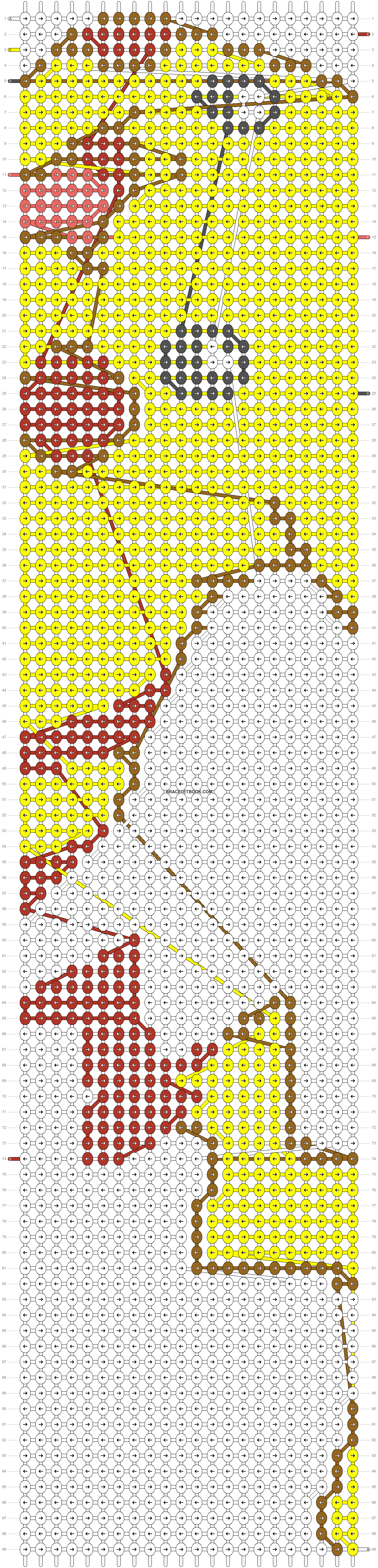 Alpha pattern #8761 pattern