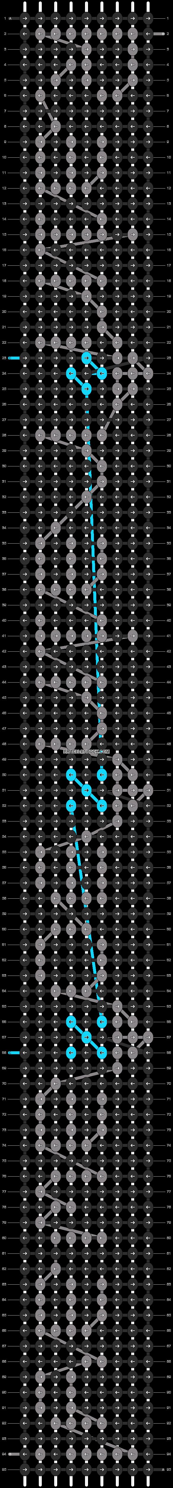Alpha pattern #8762 pattern