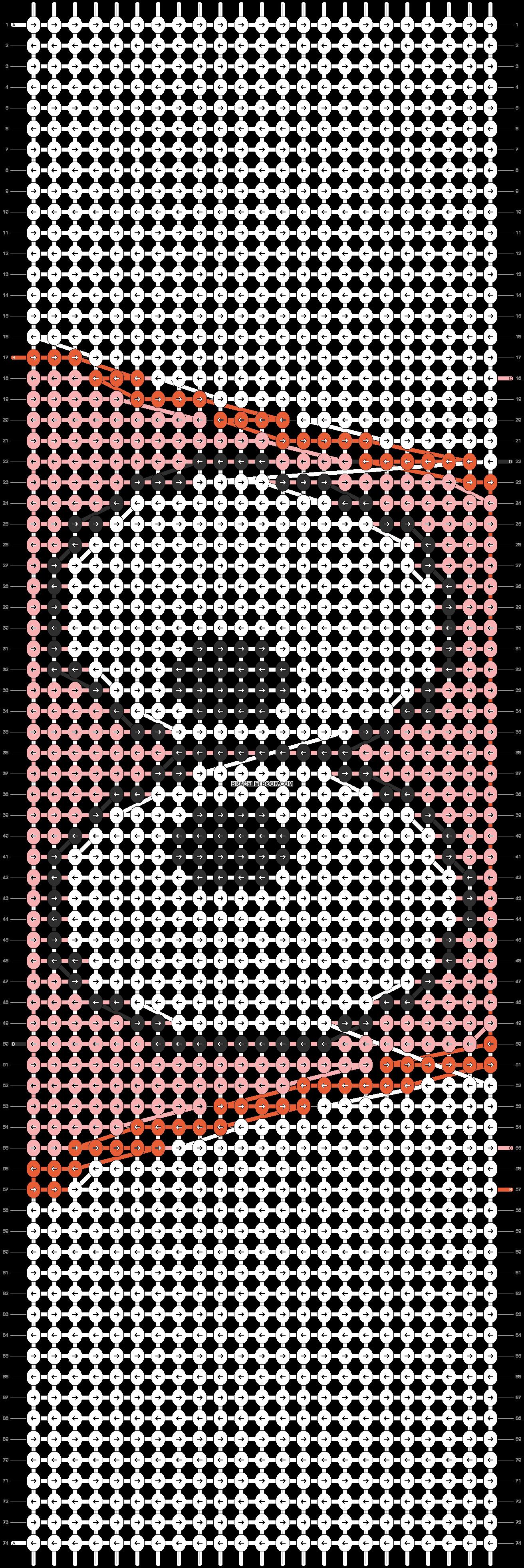 Alpha pattern #8774 pattern