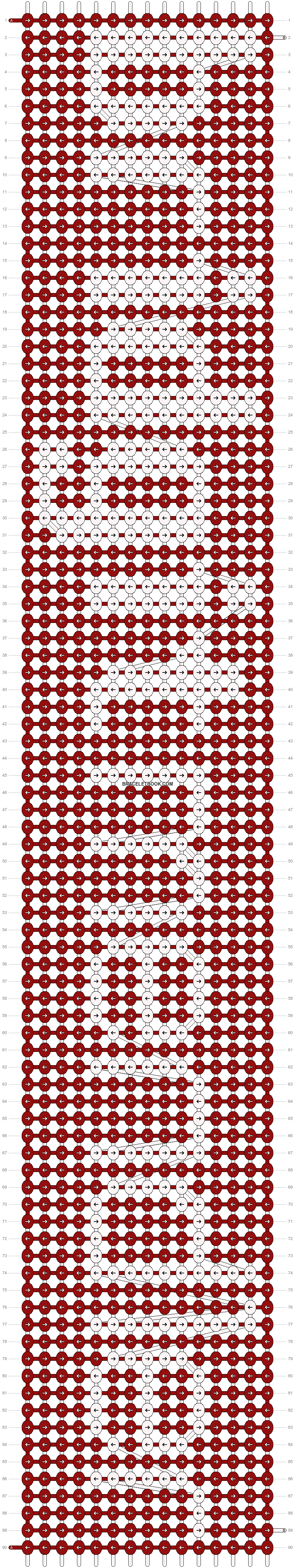 Alpha pattern #8775 pattern