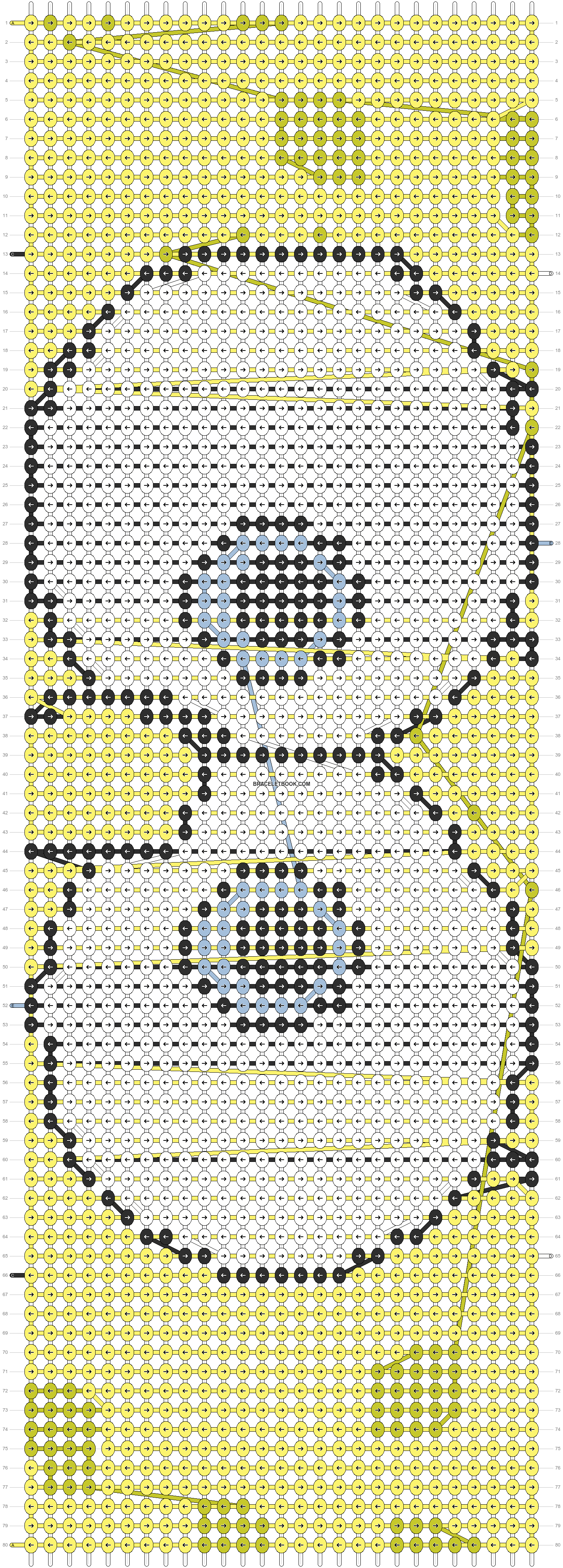 Alpha pattern #8777 pattern