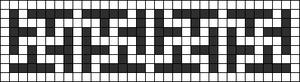 Alpha Friendship Bracelet Pattern #8785