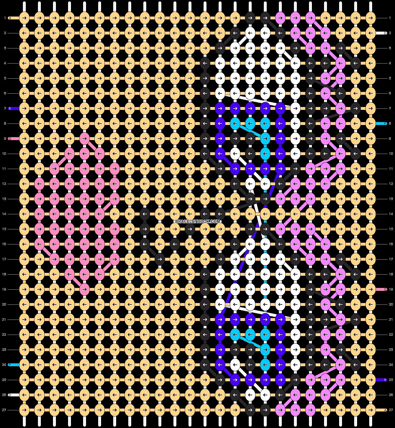 Alpha pattern #8790 pattern