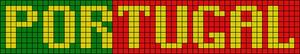 Alpha Friendship Bracelet Pattern #8796