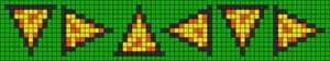 Alpha Friendship Bracelet Pattern #8802