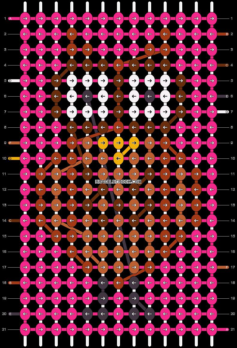 Alpha pattern #8804 pattern