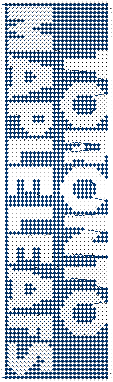 Alpha pattern #8805 pattern