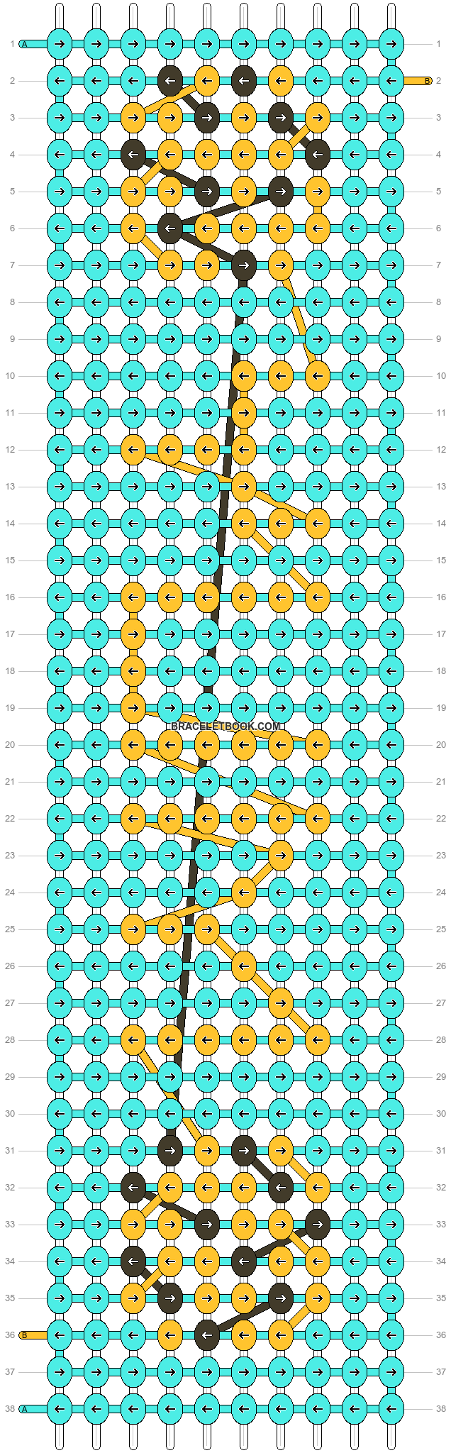 Alpha pattern #8809 pattern