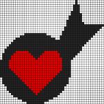 Alpha Friendship Bracelet Pattern #8811