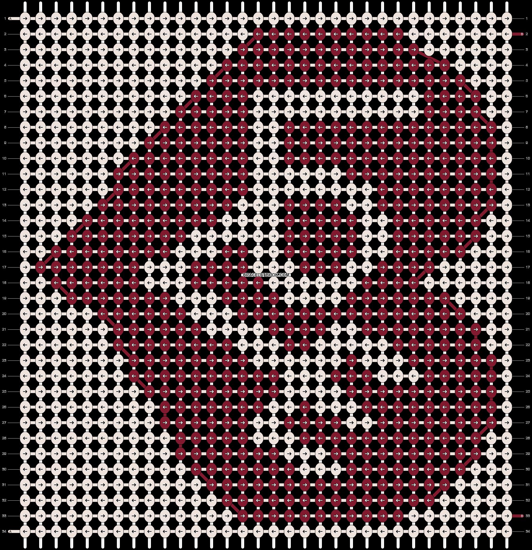 Alpha pattern #8812 pattern