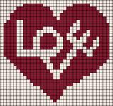 Alpha Friendship Bracelet Pattern #8812