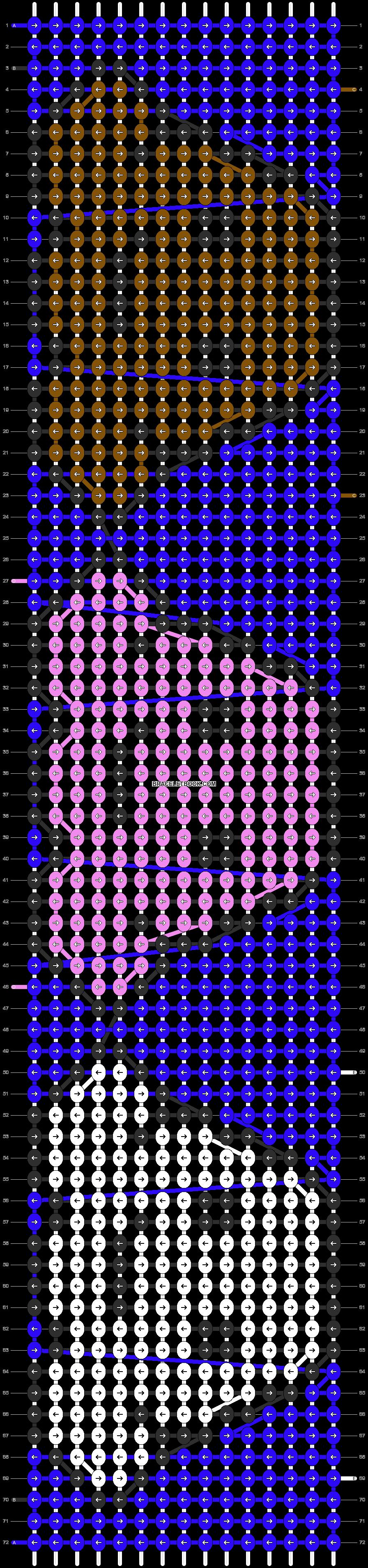 Alpha pattern #8814 pattern