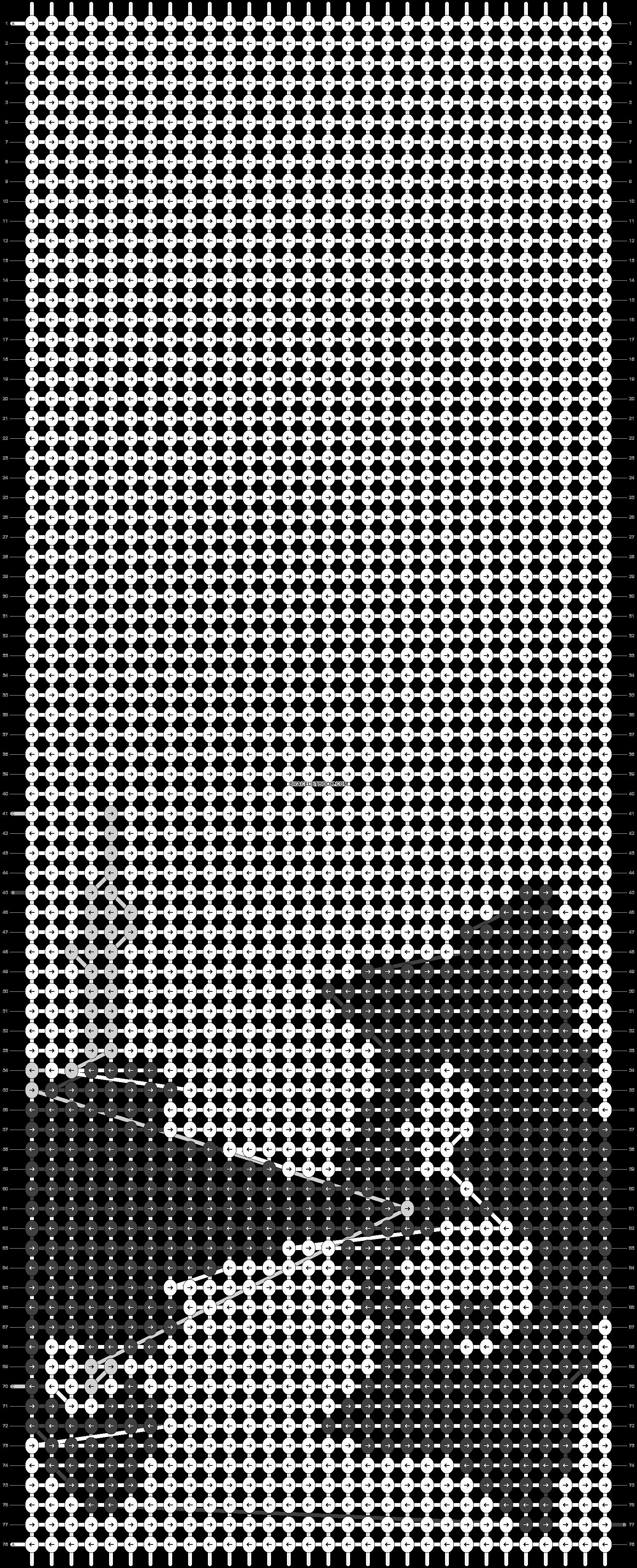 Alpha pattern #8818 pattern