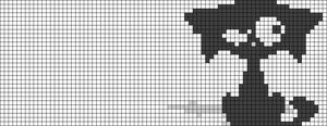 Alpha Friendship Bracelet Pattern #8818