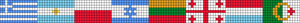 Alpha pattern #8824