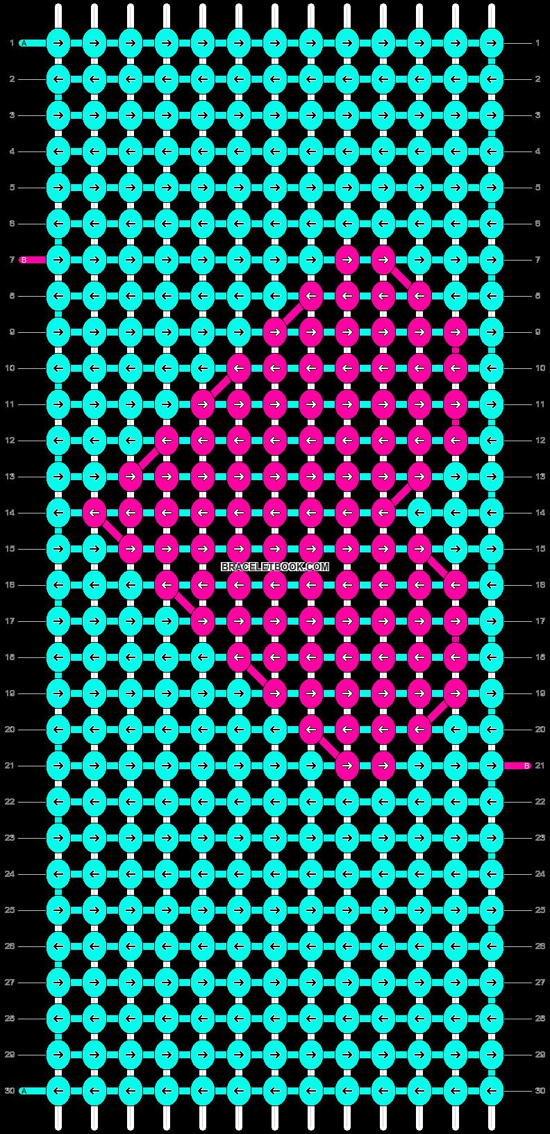 Alpha pattern #8826 pattern