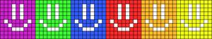 Alpha Friendship Bracelet Pattern #8827