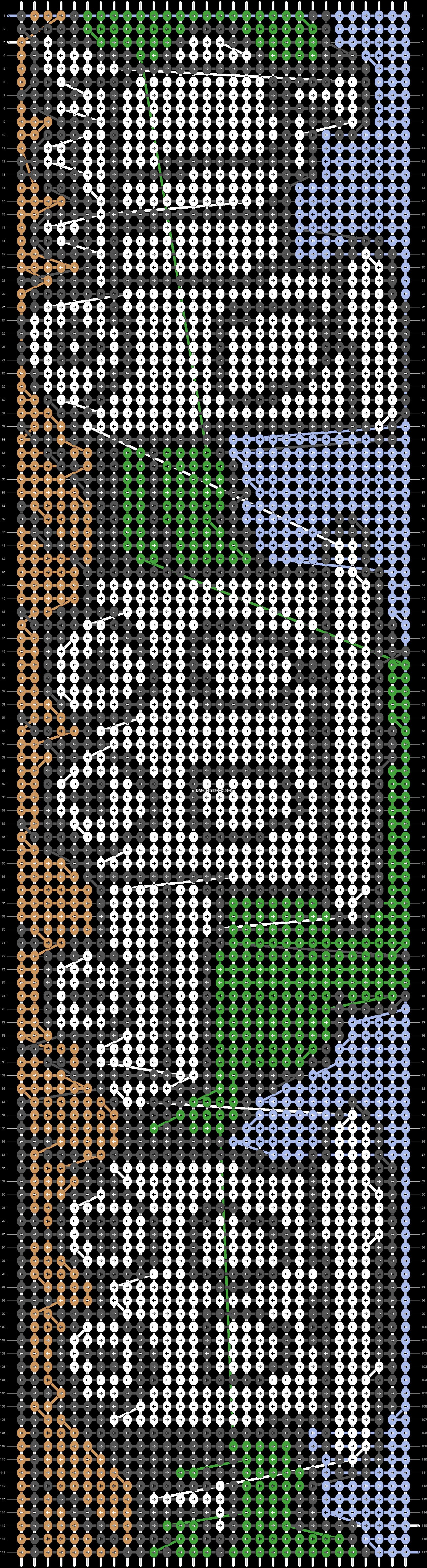 Alpha pattern #8835 pattern