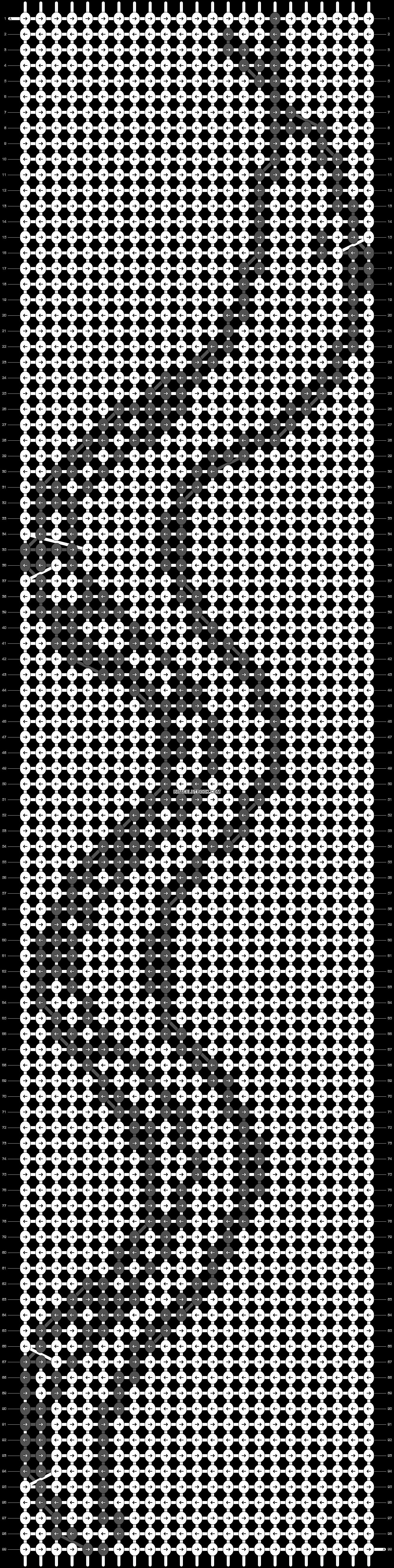 Alpha pattern #8837 pattern