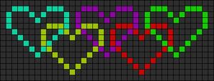 Alpha pattern #8839