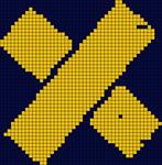 Alpha Friendship Bracelet Pattern #8842
