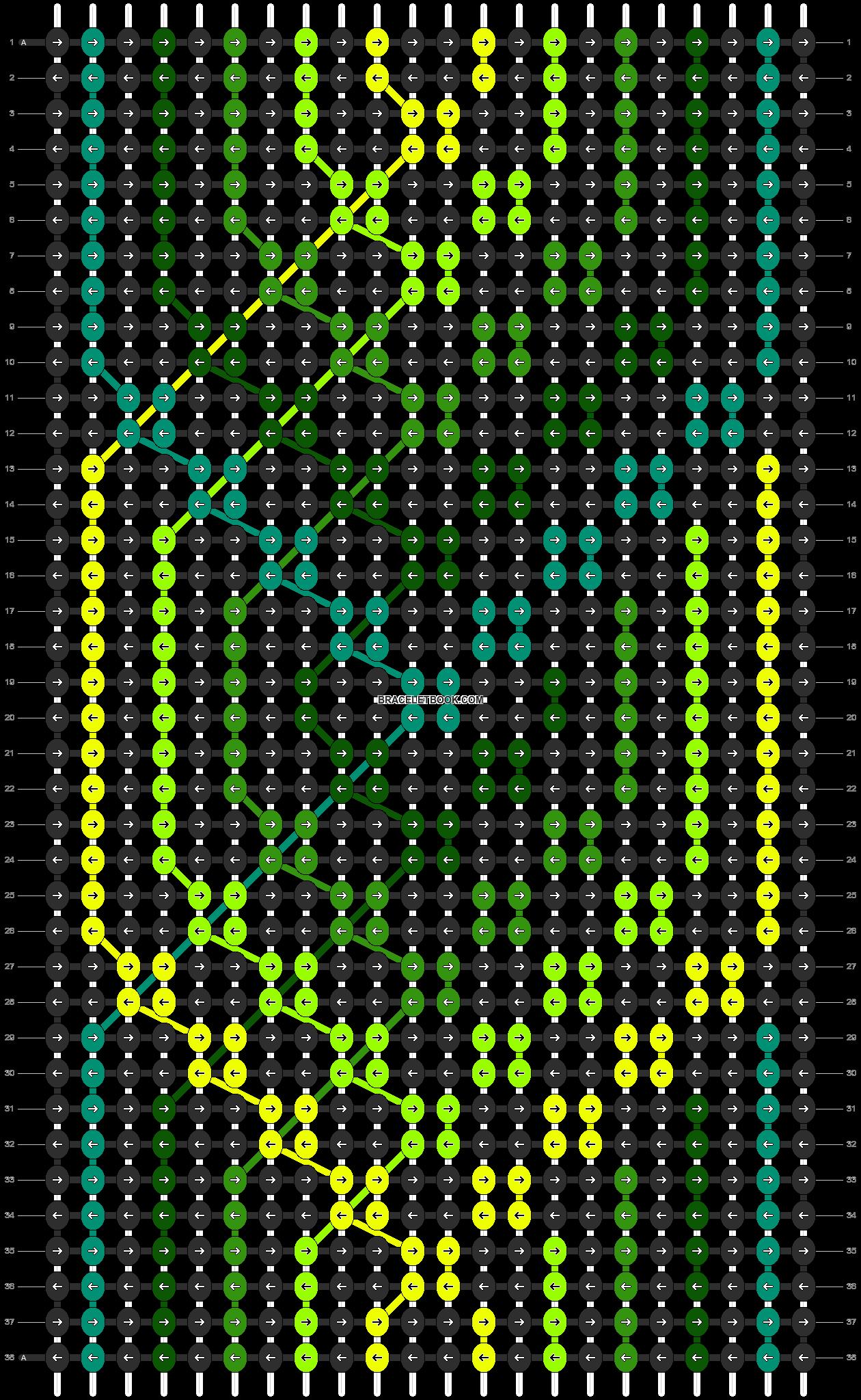 Alpha pattern #8843 pattern