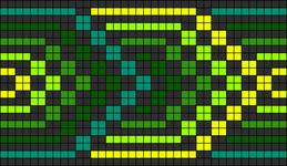 Alpha pattern #8843