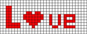 Alpha Friendship Bracelet Pattern #8862